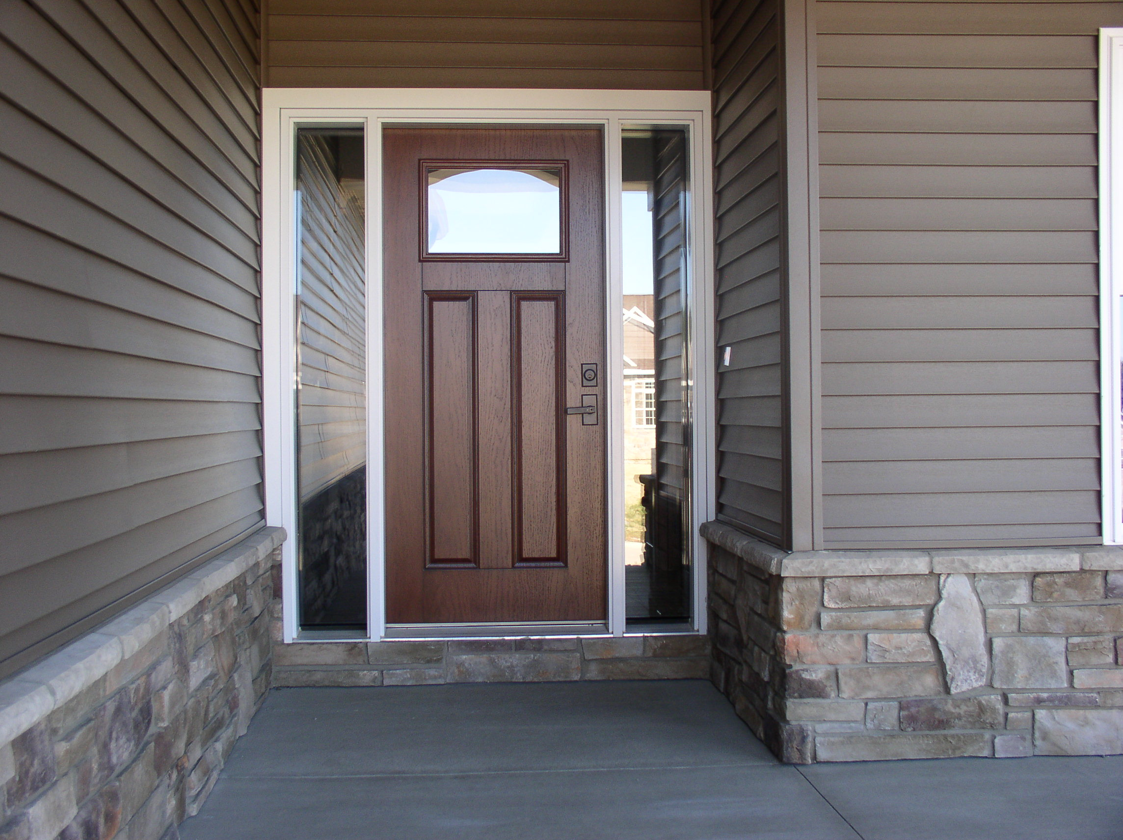Exterior doors windows fondare finish construction for Exterior doors and windows